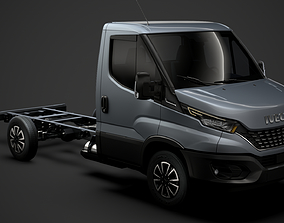 Iveco Daily Single Cab L2 Chassis 2020 3D model