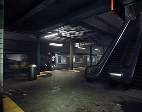 Subway UE4 3D model