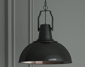 Hanging lamp Gloss Black by Romatti 3D model