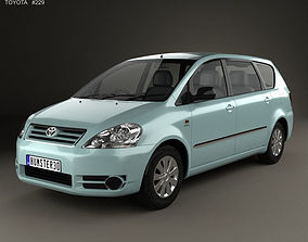 3D Toyota Avensis Verso 2001