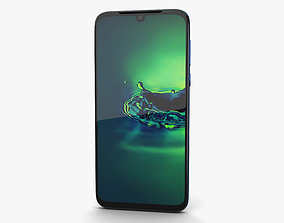 Motorola Moto G8 Plus Dark Blue 3D model