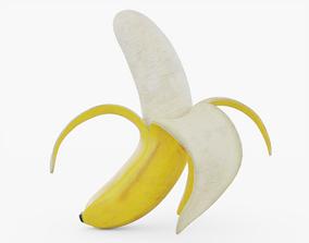3D asset Peeled Banana