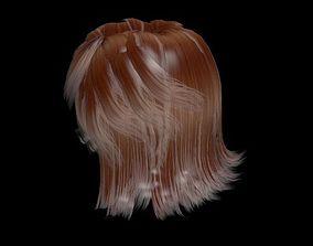 Short Haircut 3D model