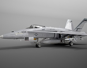 McDonnell Douglas FA-18C Hornet 3D model