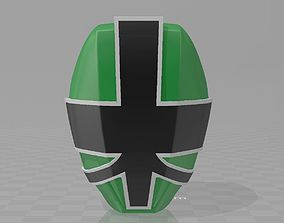 3D print model Power Rangers Samurai Green Ranger 2