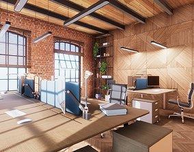 lamp HQ ArchViz Modular Loft Office 3D model