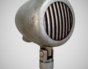 3D asset Microphone - American D5T Dirty
