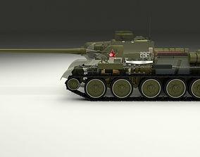 SU 100 Interior-Engine Bay Full 3D model