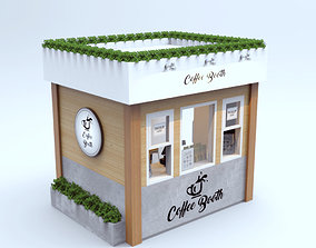 3D Outdoor Coffee Booth