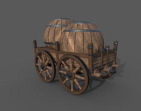 Carriage - 02 3D asset