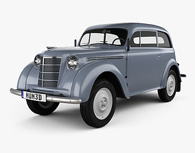 3D model Opel Kadett 2-door sedan 1938