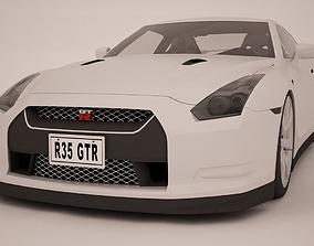 3D model 2015 Nissan R35 GTR