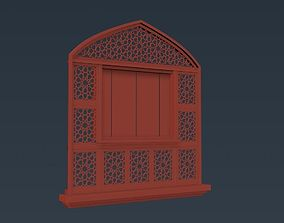 Arched Window 01 3D