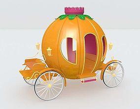 Pumpkin cart 3D