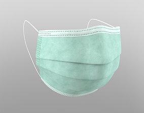 3D model PBR Medical mask