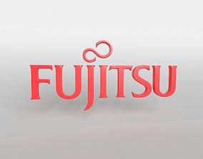 3D model FUJITSU Logo v1 001