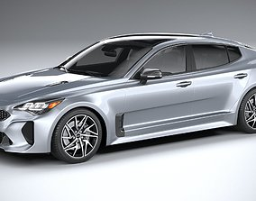 3D model Kia Stinger GT-line 2022