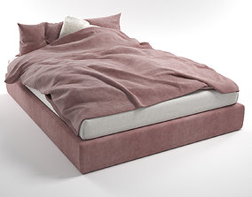 indoors Bed 3D Model