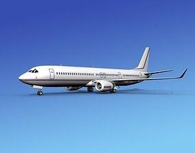 Boeing 737-900ER Corporate 8 3D model