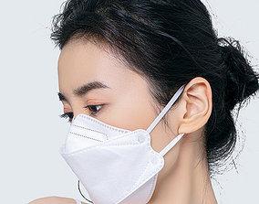 3D KF94 Fish Mask