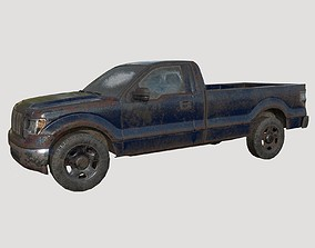 3D model Abandoned pickup 05