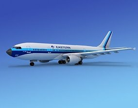 3D model Airbus A300 Eastern 2