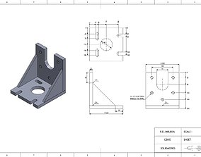 90 Degree Machinist Angle Plate 3D print model