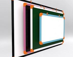 whiteboard 3D Mini Board in 4 Different Sizes