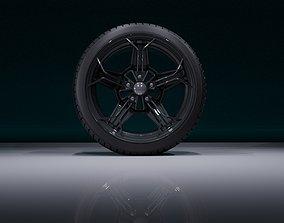 3D asset realtime CR5OB wheel
