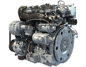 Car Engine - 3D Models