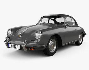 3D Porsche 356 SC Coupe 1963