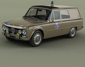 3D Alfa Romeo Giulia Super Polizia Stradale Familiare