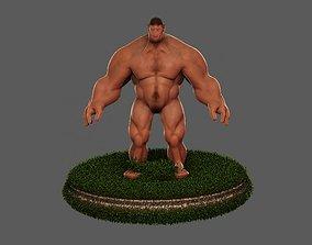 3D Hulk Hero