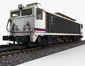 3D asset Train Engine
