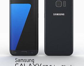 3D model Samsung Galaxy S7 Edge Black