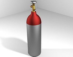 Gas Tank - Cylinder Type 2 3D