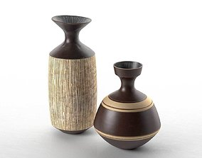 3D model architectural Vases by Lucie Rie