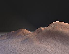 exterior PBR Desert mountains landscape 3D
