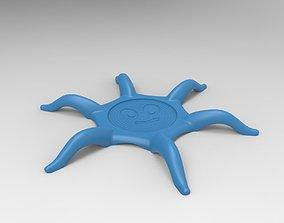 3D printable model Octopus Coaster