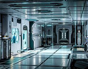 26 Sci-Fi 3D models - Interior Asset Pack