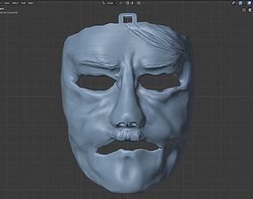 3D print model Face mask stage prop