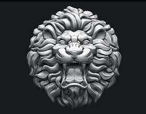 3D print model Roaring Lion Head V2