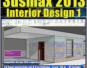 3dsmax 2013 Interior Design v 6 Italiano cd front