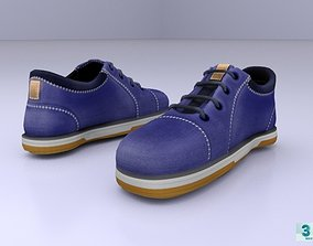 Casual Shoes 3D asset