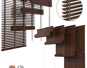 3D model Wood Blinds