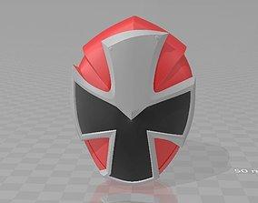 Power Rangers Red Ninninger AkaNinger 3D printable model 1