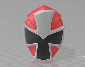 Power Rangers Red Ninninger AkaNinger 3D printable model 1