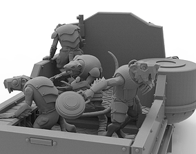 3D print model Cheese Stealer Cult - Vehicle Crew