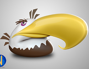 Angry Bird V01 3D print model 3d