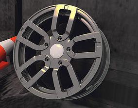 Lada Niva Urban Rim 3D asset